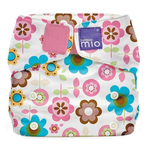Bambino Mio: Miosolo All-in-One Nappy - Flowers (Rosie Posie)