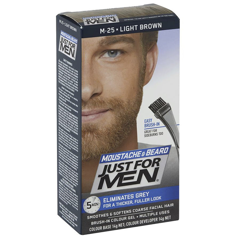 Just For Men Moustache & Beard Colour - Light Brown