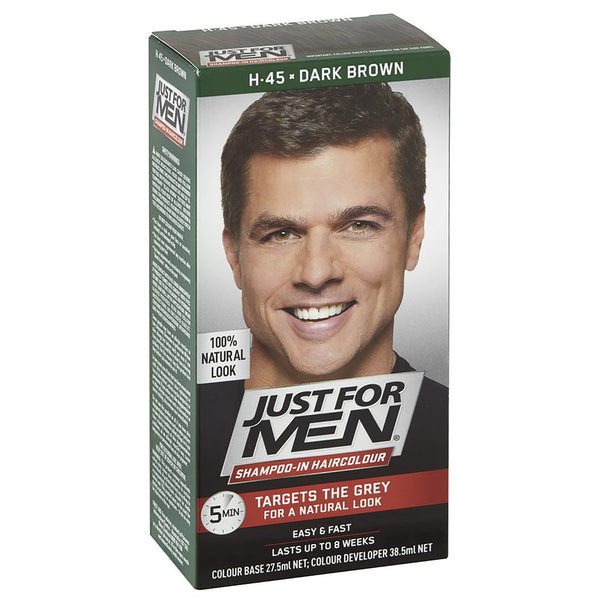 Just For Men Shampoo-In Hair Colour - Dark Brown