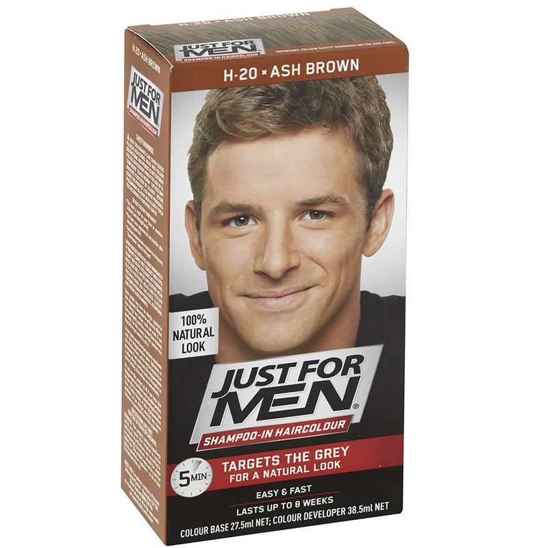 Just For Men Shampoo-In Hair Colour - Ash Brown