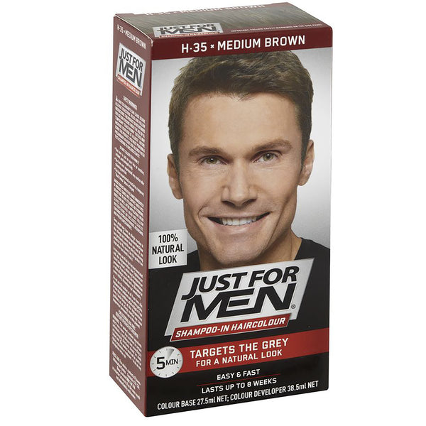 Just For Men Shampoo-In Hair Colour - Medium Brown