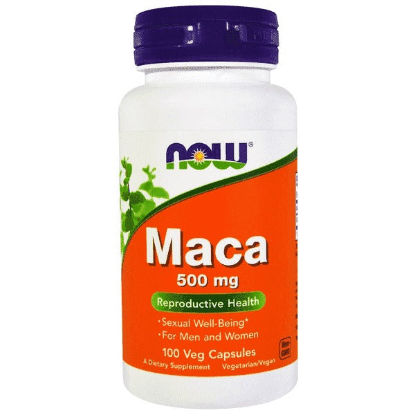 Now Foods Maca 500 mg (100 Vege Caps)