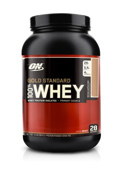 Optimum Nutrition Gold Standard 100% Whey - Mocha Cappuccino (907g)
