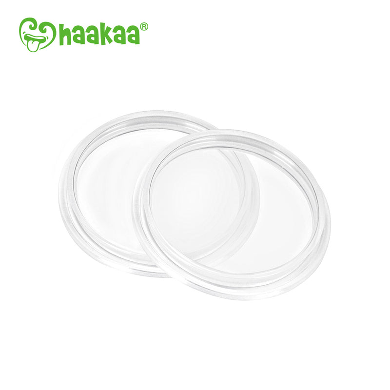 Haakaa: Generation 3 Silicone Bottle Sealing Disk (2 Pack)