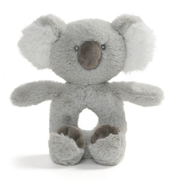 Gund: Toothpick Koala - Plush Ring Rattle