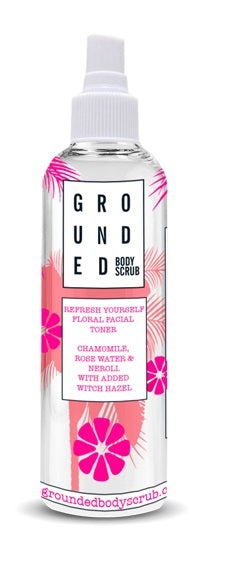 Grounded Floral Facial Toner (150ml)