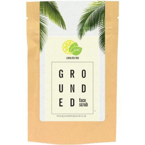 Grounded Face Scrub - Lemon Tea Tree (60g)