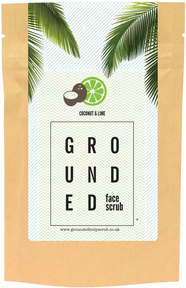 Grounded Face Scrub - Coconut & Lime (60g)