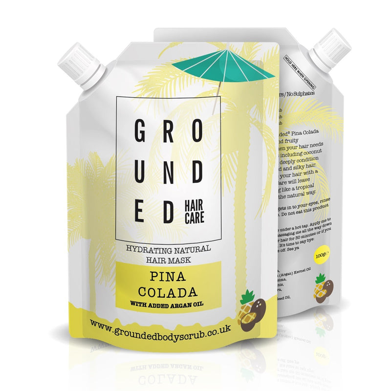 Grounded Hair Mask - Pina Colada (100ml)