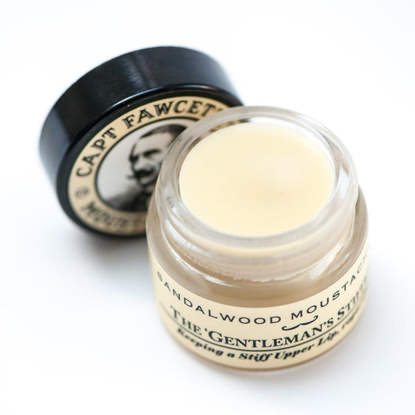 Captain Fawcett Moustache Wax - Sandalwood (15ml)