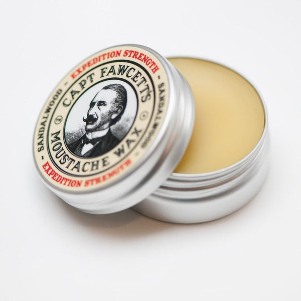 Captain Fawcett Moustache Wax - Expedition Strength (15ml)