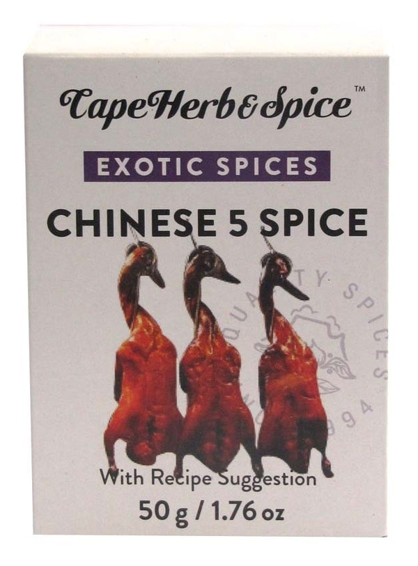 Cape Herb: Chinese 5 Spice Seasoning (50g)