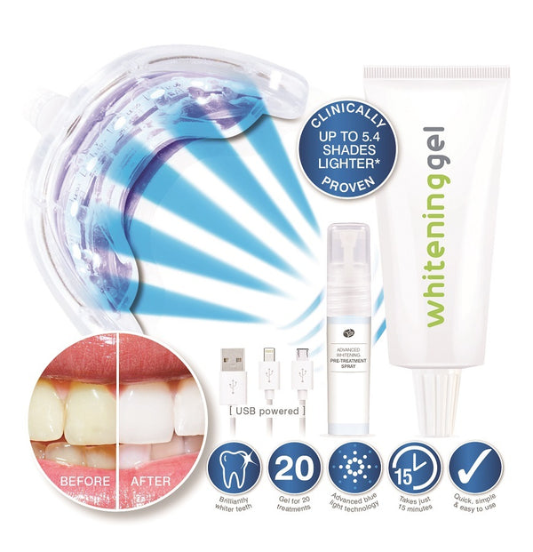 Rio Smile White Advanced Blue-Light Teeth Whitening