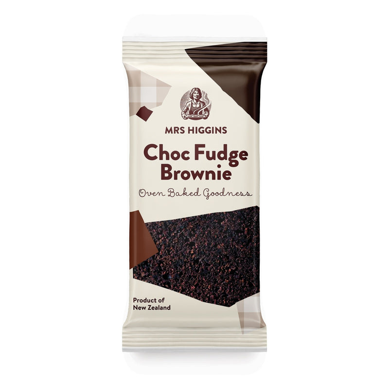 Mrs Higgins: Choc Fudge Brownie 80g (9 Pack)
