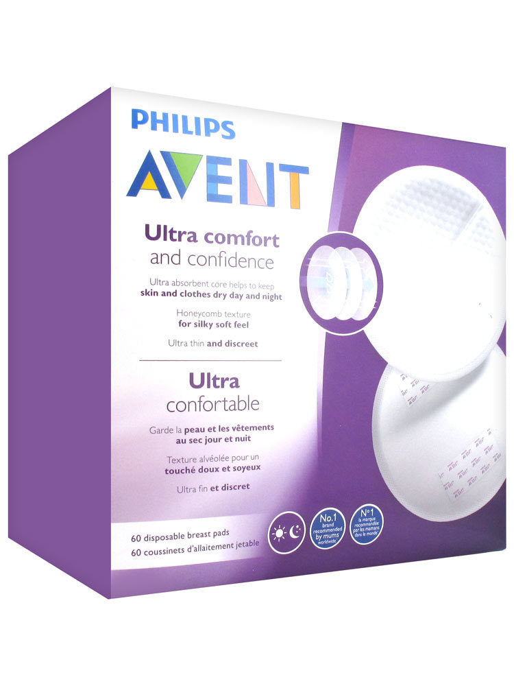 Avent: Disposable Breast Pads - Day (60 Pads)