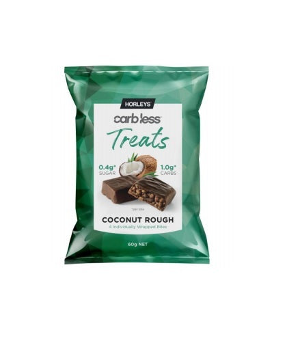 Horleys Carb Less Treats - Coconut Rough (Box of 10)