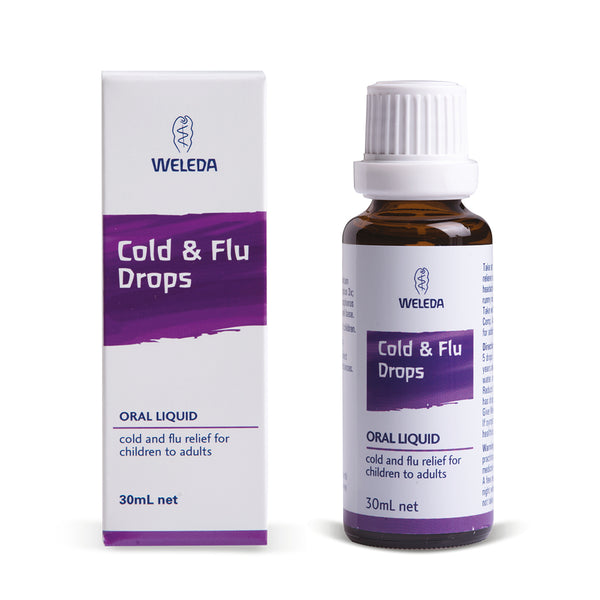 Weleda Cold & Flu Drops (30ml)