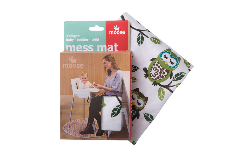Moose Mess Mat - Owl