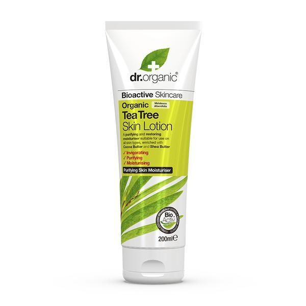 Dr. Organic - Tea Tree Skin Lotion (200ml)