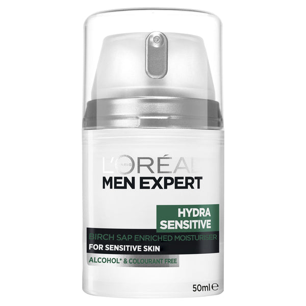 L'Oreal Men Expert - Hydra Sensitive Moisturiser (50ml)