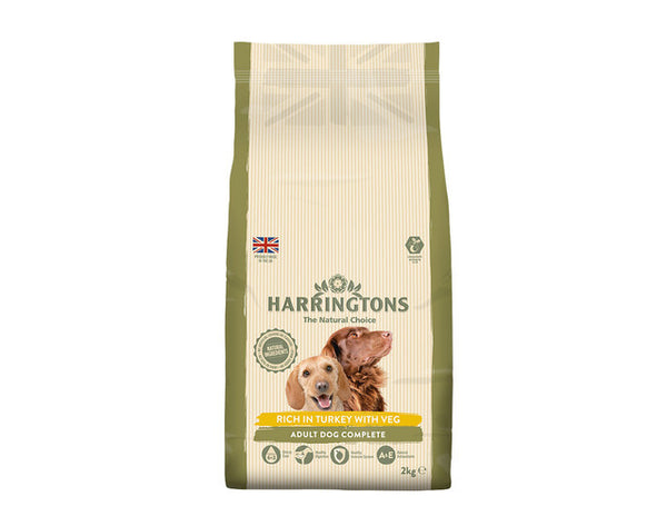 Harringtons: Dog Food Turkey & Vegetable 2kg