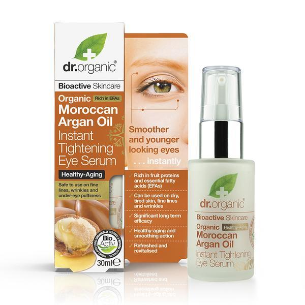 Dr. Organic - Moroccan Argan Oil Instant Tightening Eye Serum (50ml)