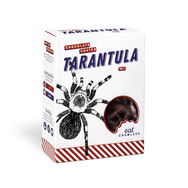Eat Crawlers: Chocolate Coated Tarantula (15g)