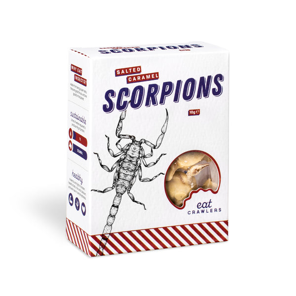 Eat Crawlers: Salted Caramel Scorpions (10g)
