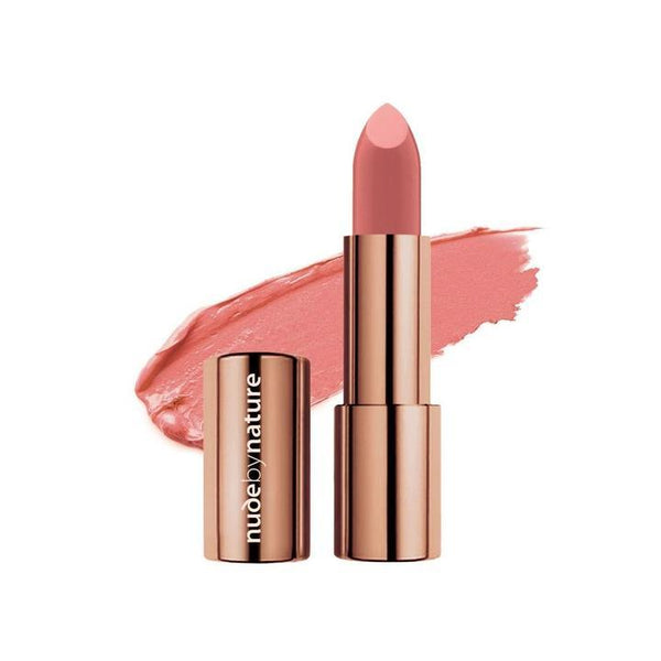 Nude By Nature Moisture Shine Lipstick - #05 Pale Coral