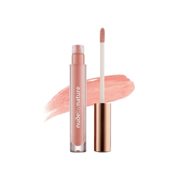 Nude By Nature: Moisture Infusion Lipgloss - 02 Peach Nude