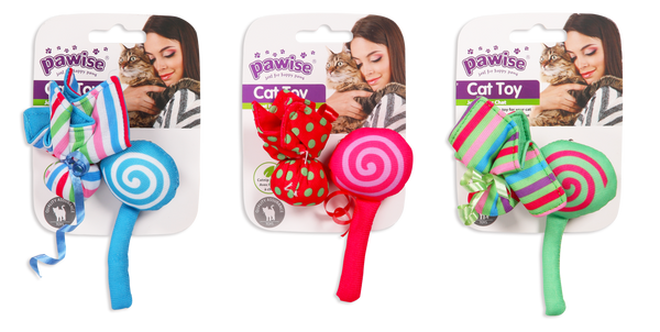 Pawise: Candy & Flower Cat Toy