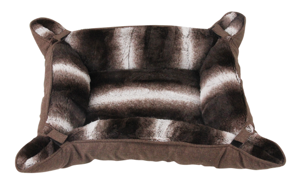 Pawise: Pet Deluxe Bed - Brown