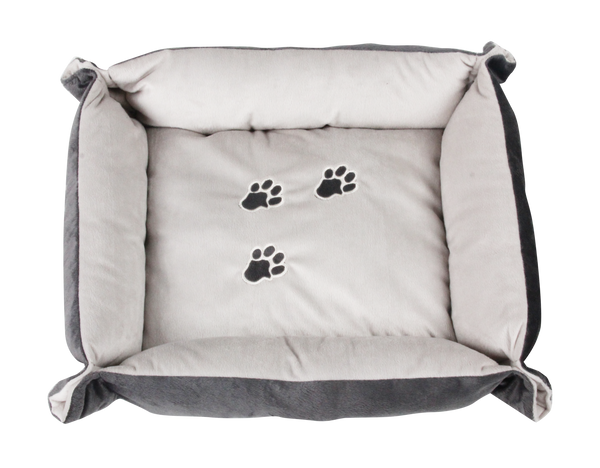 Pawise: Pet Bed - with Paws/Brown/Coffee