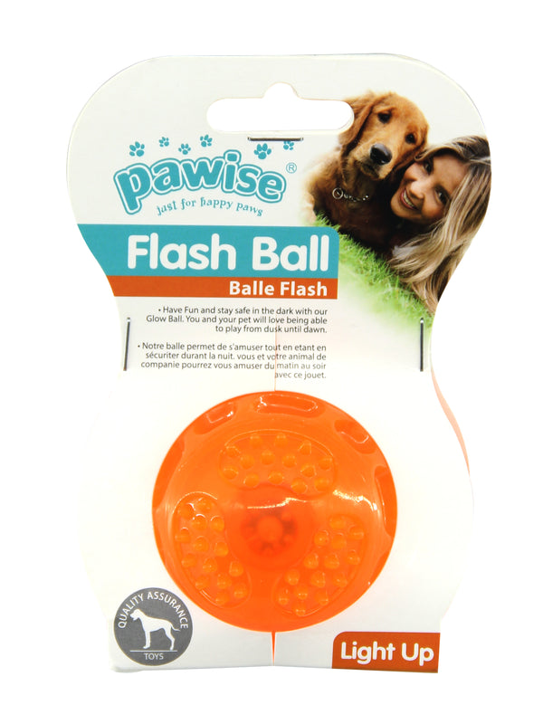 Pawise: TPR Flash Ball - Small 6 cm