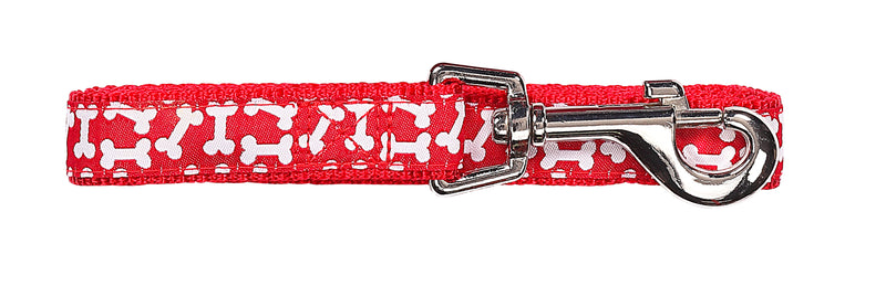 Pawise: Dog Leash - Red/Medium (1.2m/20mm)