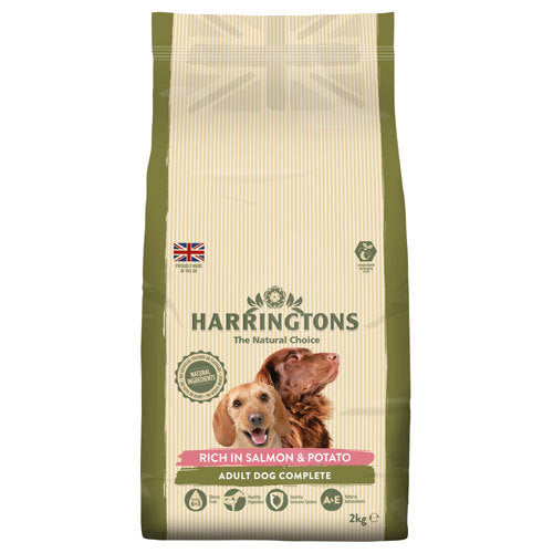 Harringtons: Dog Food Salmon & Potato 2kg
