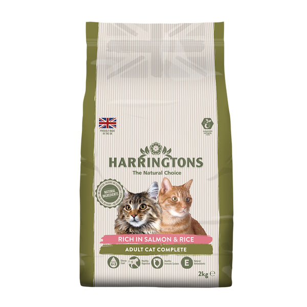 Harringtons: Cat Food Salmon with Rice 2kg