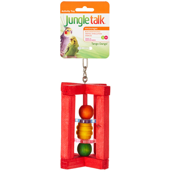 Jungle Talk: Tango Dango for Small/Medium Birds