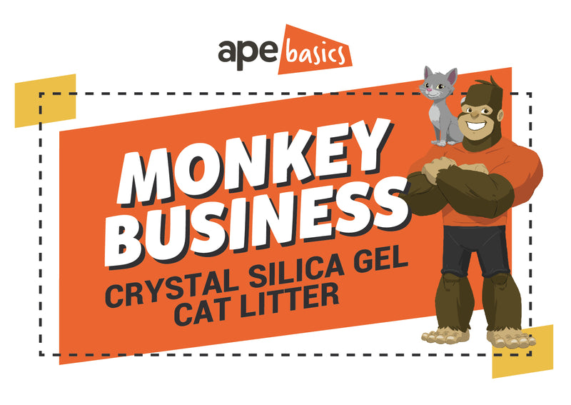 Monkey Business Cat Litter - Crystals (20L)
