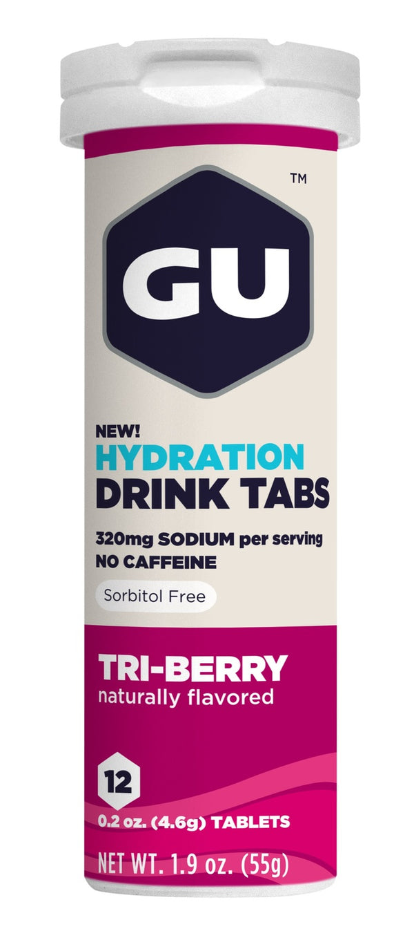 GU Hydration Tabs - Triberry (54g)