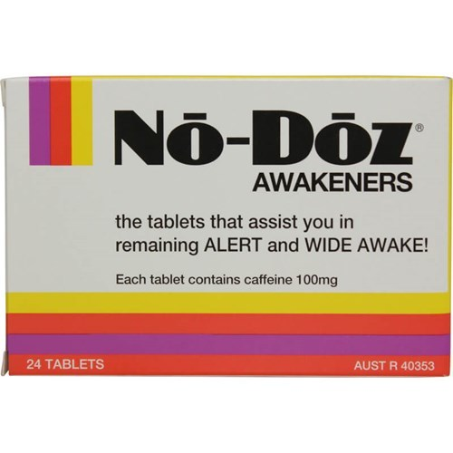No-Doz Awakeners (24 Tablets)