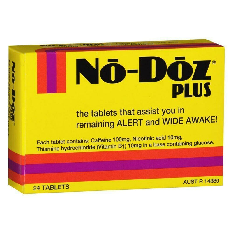 No-Doz Plus (24 Tablets)
