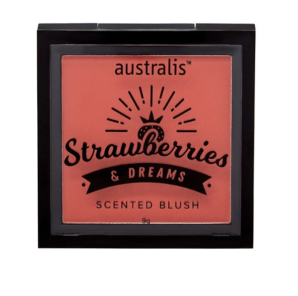 Australis: Strawberries & Dream Scented Blush - Berry Jelly