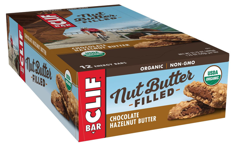 Clif Bar Nut Butter Filled - Chocolate Hazelnut Butter (Box of 12)
