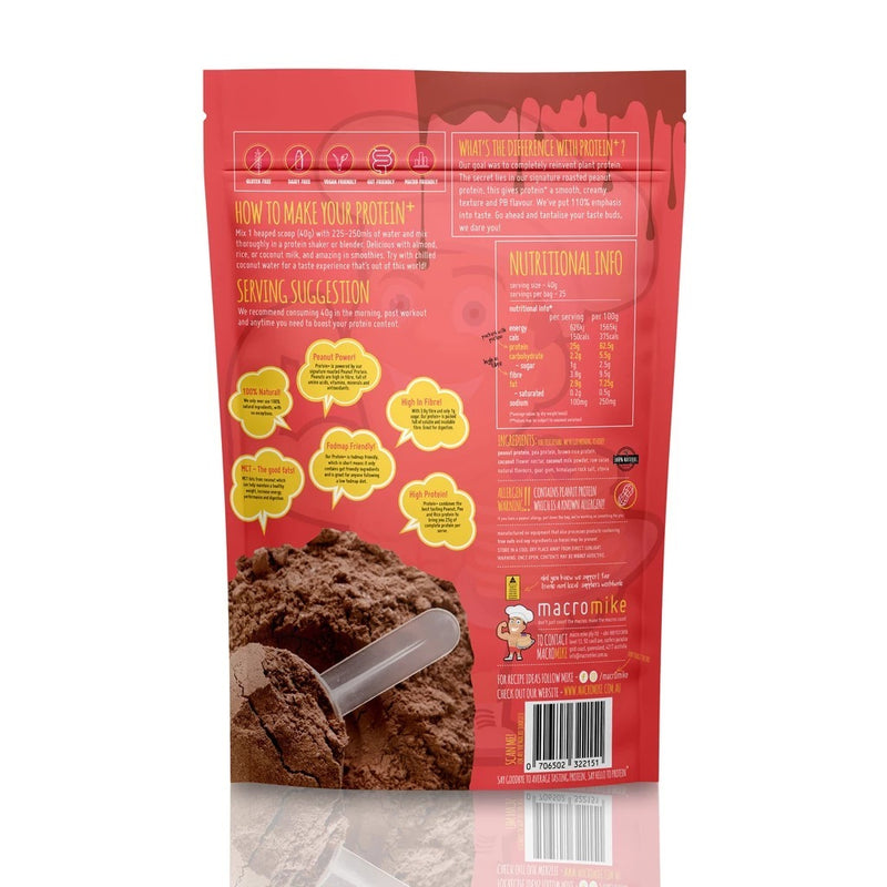 Macro Mike Protein+ - Chocolate Caramel (1kg)
