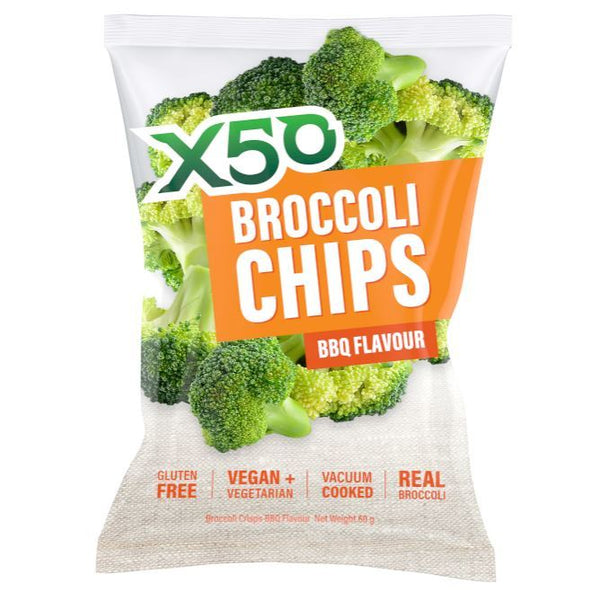 X50 Broccoli Chips - BBQ (60g)