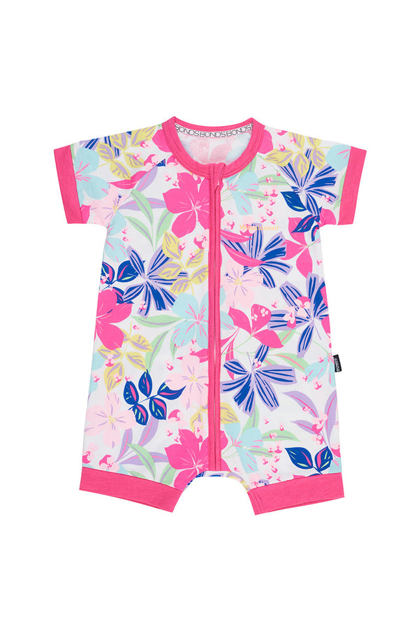 Bonds: Zippy Romper - Beach Club Floral (0-3 Months)