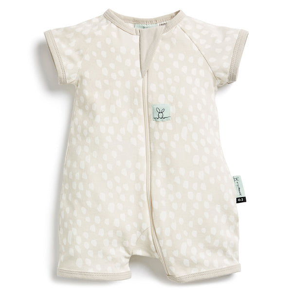 ErgoPouch: 0.2 TOG Short Sleeve Layers - Fawn/1 year