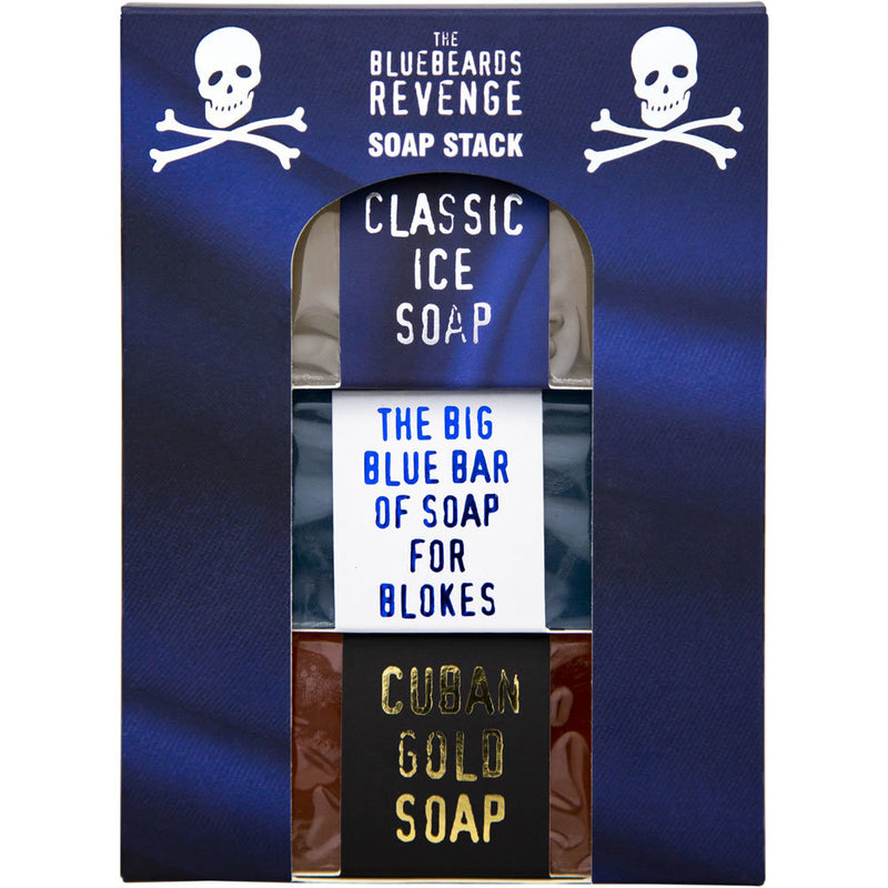 Bluebeards Revenge Soap Stack (3x175g)