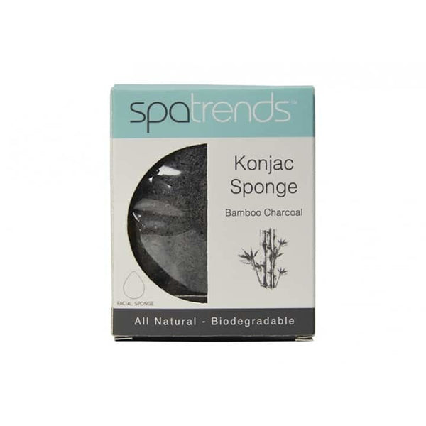 Spa Trends: Konjac Sponge - Bamboo Charcoal